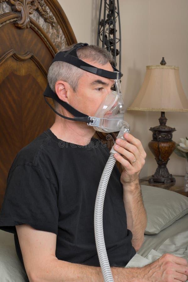 Download Sleep Apnea stock photo. Image of machine, male, apnea - 40280144