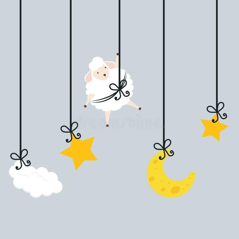 Sleep design. vector illustration