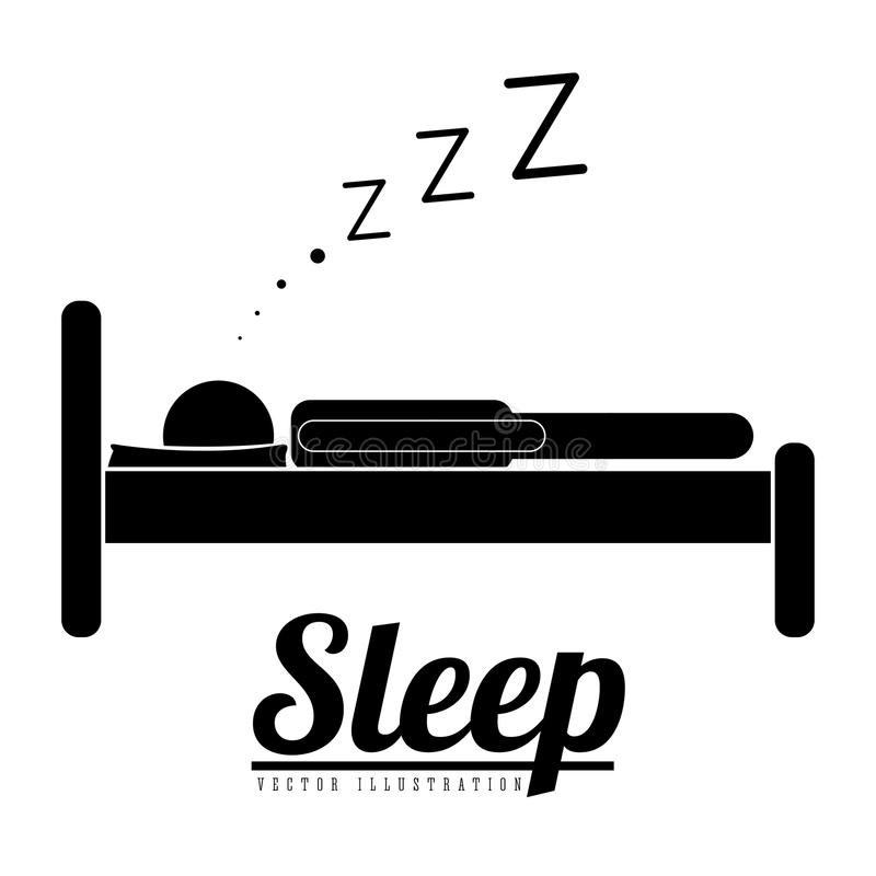Sleep design vector illustration
