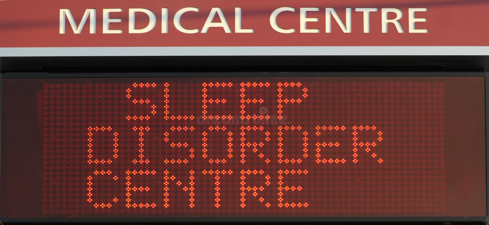 Download Sleep Disorder Centre stock image. Image of illness, sign - 6169617