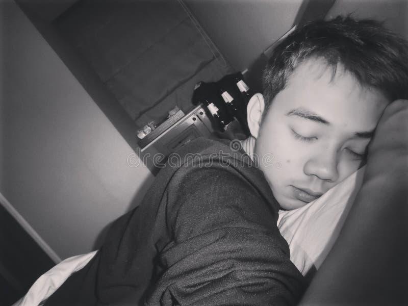 Sleep time stock photo