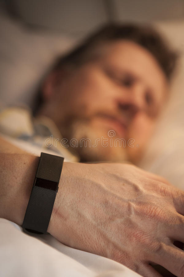 Sleep Tracking stock photo