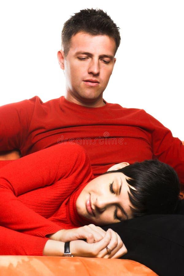 Sleep well my dear! stock photo