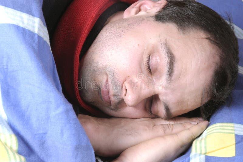 Sleeping royalty free stock image