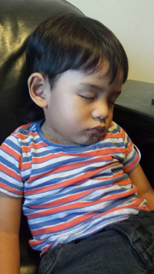 sleeping foto de archivo