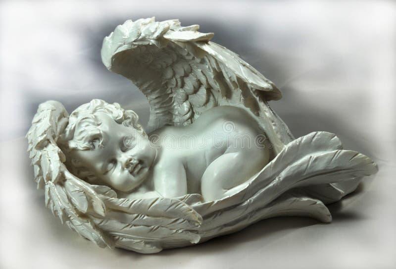 Sleeping angel royalty free stock photography