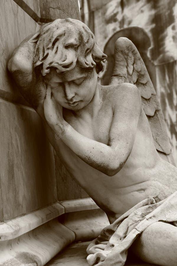 Download Sleeping angel stock photo. Image of angel, condolences - 7582432