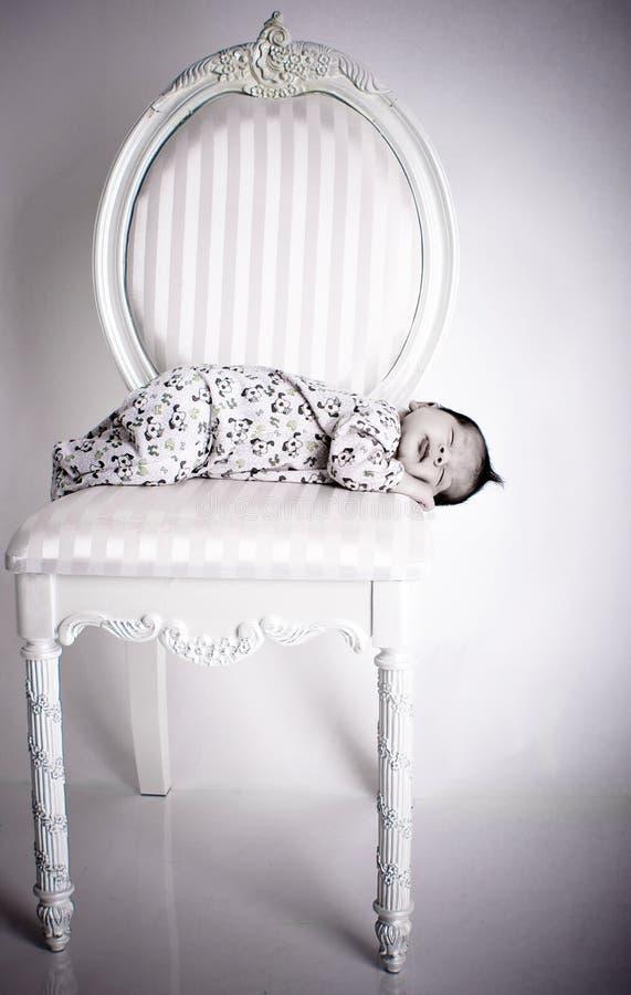 Sleeping baby stock images