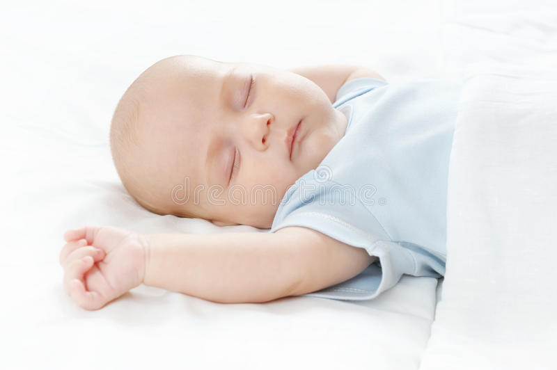 Download The sleeping baby stock photo. Image of small, toddler - 14862860