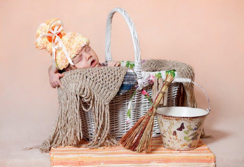 Download Sleeping baby stock photo. Image of sleeper, beautiful - 28940056