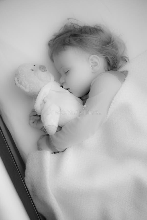 Download Sleeping baby stock photo. Image of innocence, cozy, asleep - 32578394