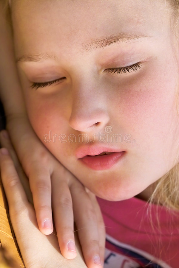 Download Sleeping beauty stock photo. Image of headshot, lovely - 692006