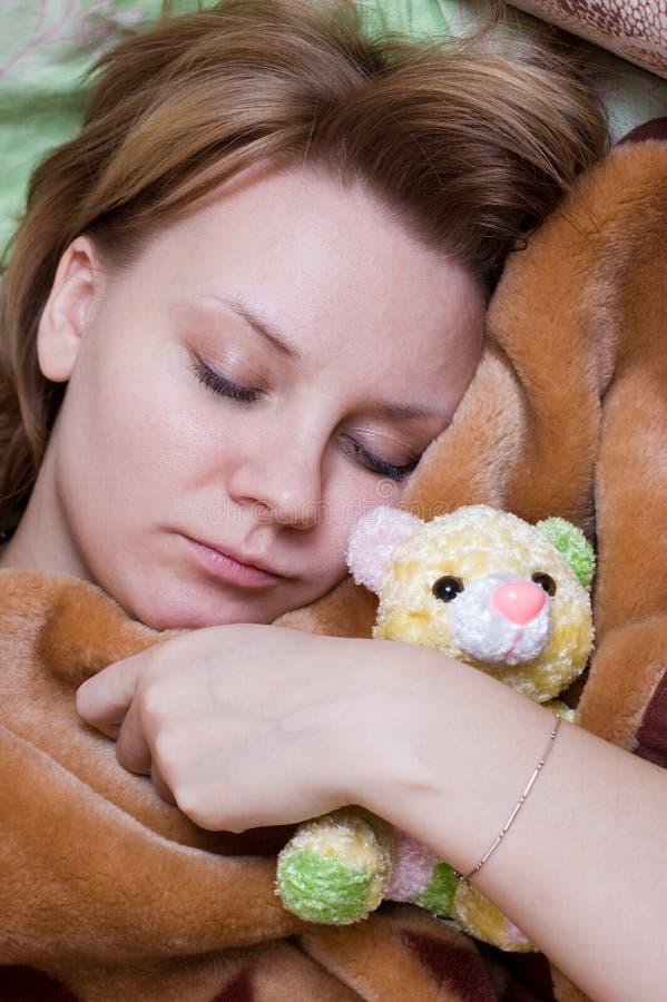 Free Sleeping Beauty Royalty Free Stock Image - 7990916