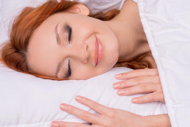 Sleeping beauty. stock photos