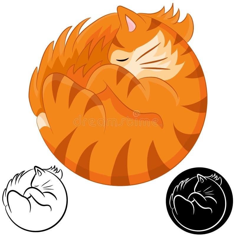 Free Sleeping Cat Royalty Free Stock Photos - 43210928