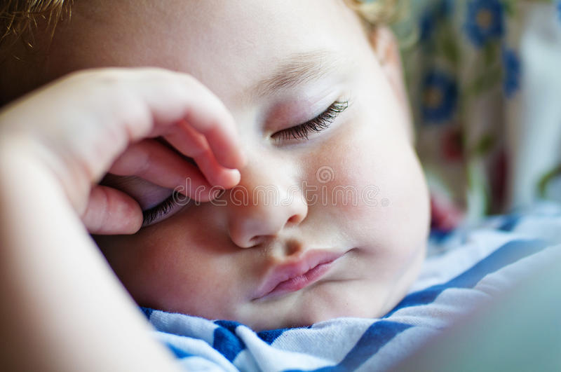 Download Sleeping child stock image. Image of healthy, closeup - 26451929