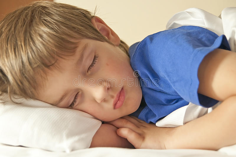 Download Sleeping child stock image. Image of four, dreams, safe - 30706883