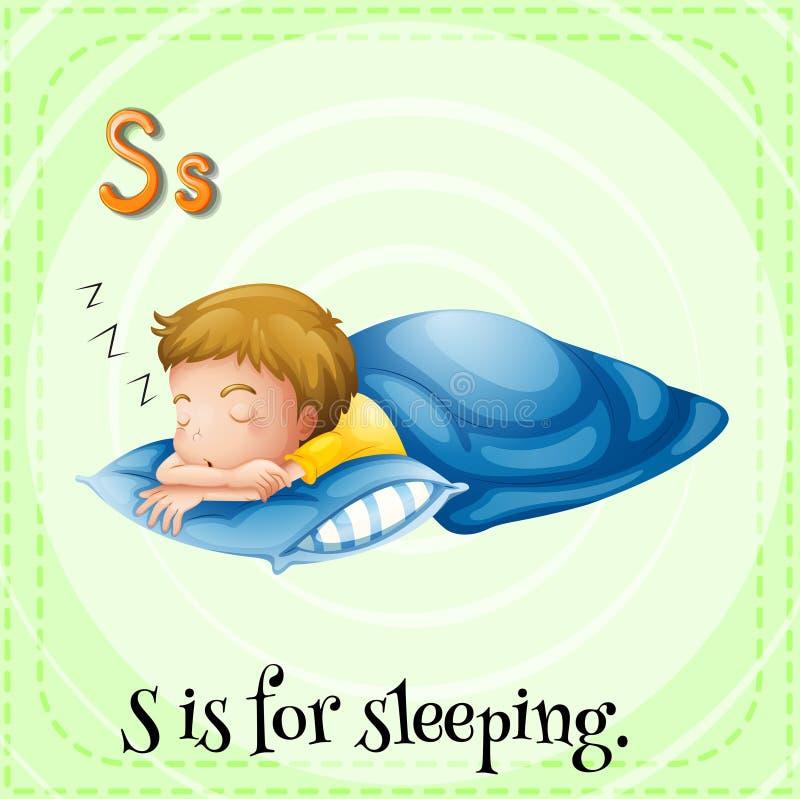 Sleeping vector illustration