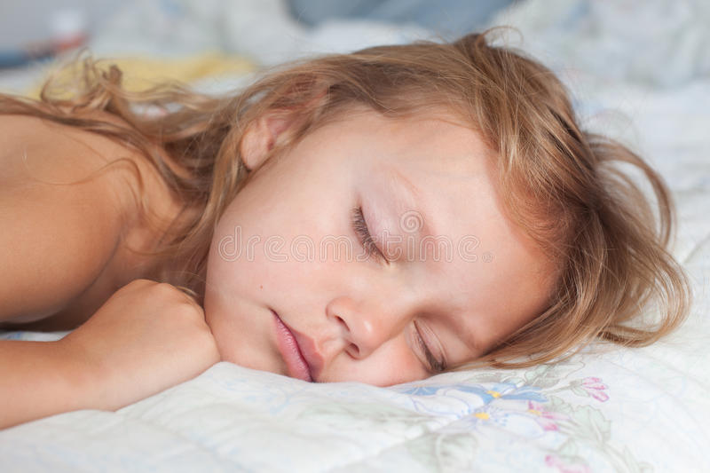 Download Sleeping girl stock image. Image of person, small, relaxed - 21607911