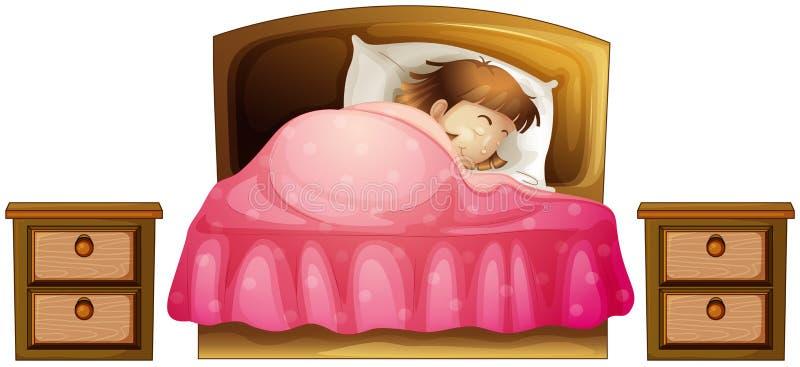Download A Sleeping Girl Stock Photos - Image: 33693763