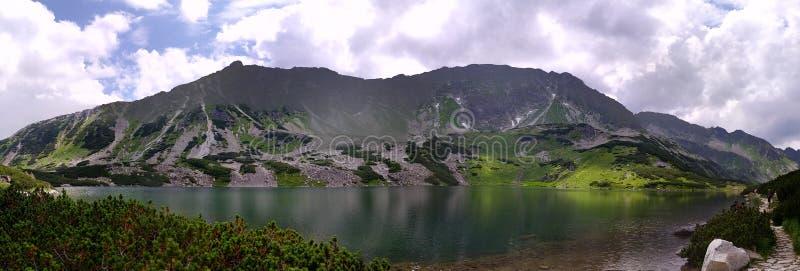 Sleeping lake stock image