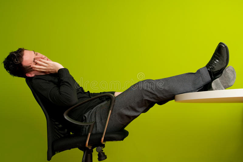 Download Sleeping man stock photo. Image of relax, office, corporate - 14023050