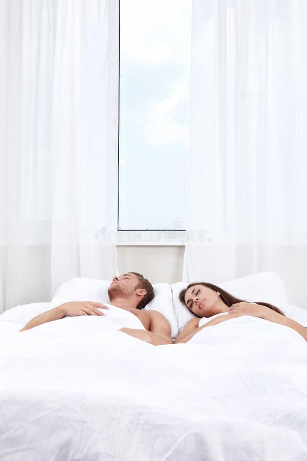 Sleeping people royalty free stock photo
