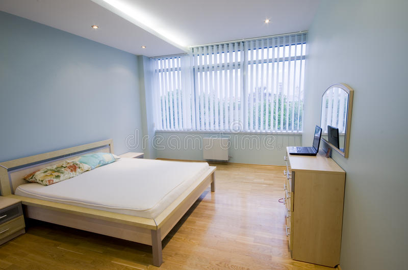 Sleeping room stock photo