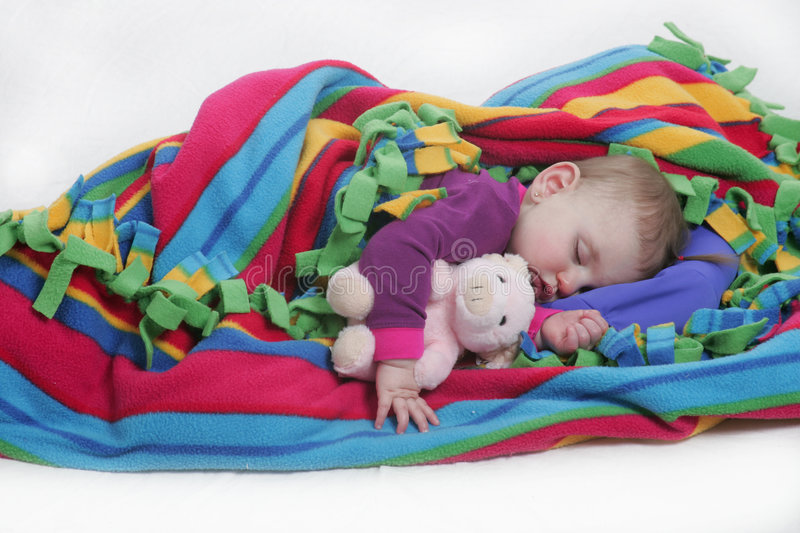 Download Sleeping With Teddy Stock Images - Image: 2321714