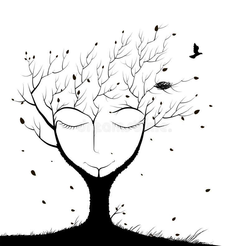 Free Sleeping Tree Spirit Stock Photo - 99045430