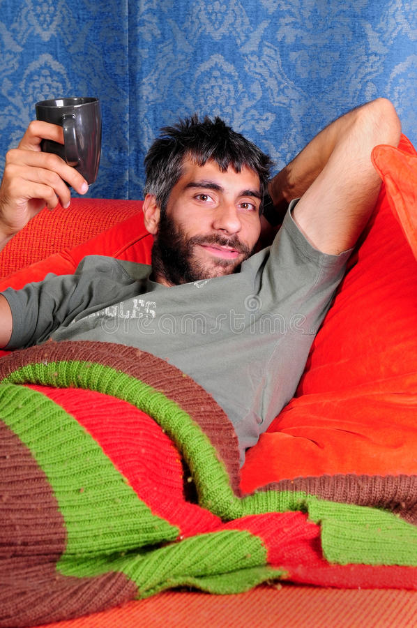 Download Sleeping-in on the Weekend stock photo. Image of caucasian - 11039276