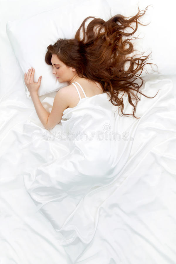 Free Sleeping Woman Stock Photography - 16948242
