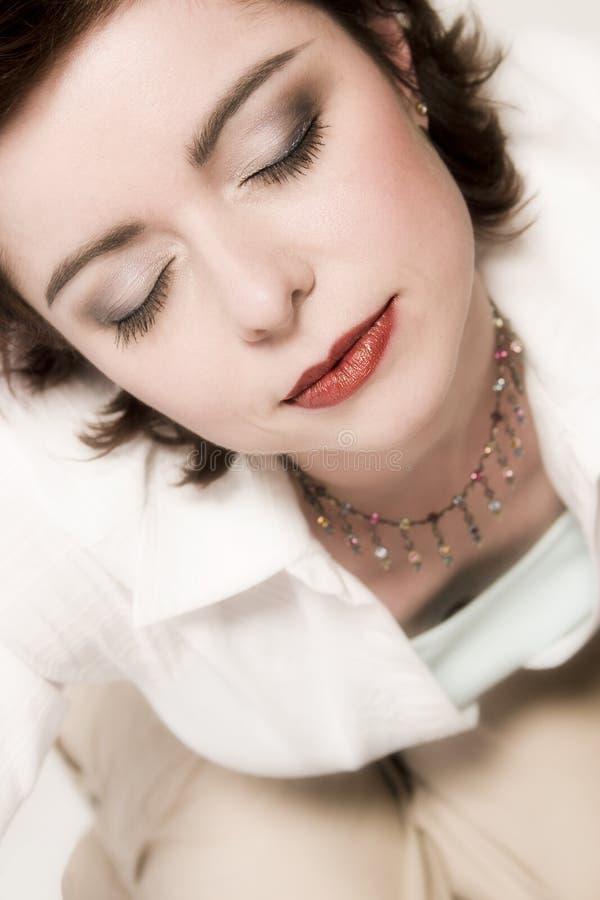 Sleeping Woman Free Stock Photos