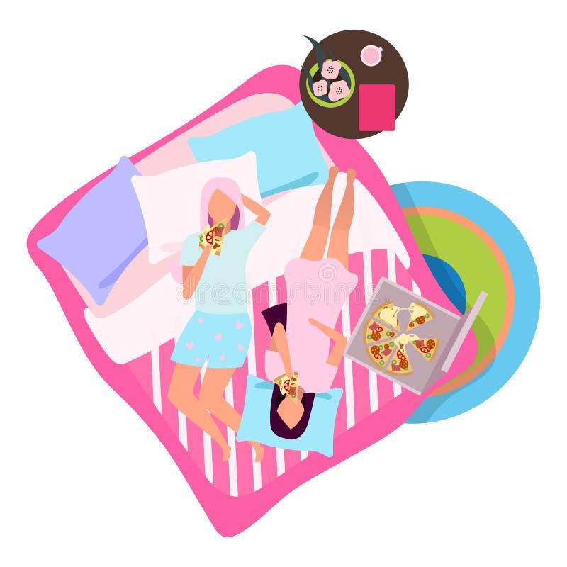 Pajama Party Pink Pyjama PJ Slumber Girl Kids Birthday Invitations w//Envelopes