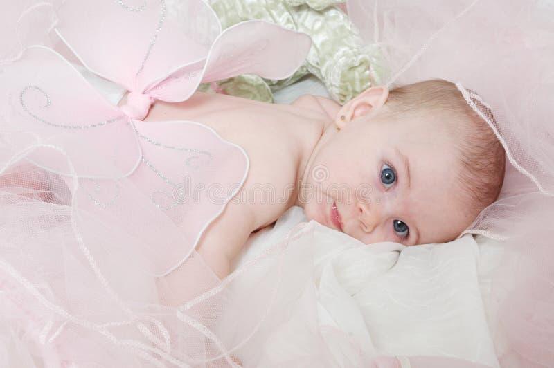 Sleepy Angel Baby royalty free stock photography