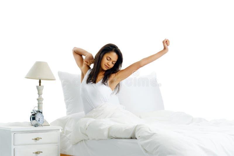 Download Sleepy yawn stock image. Image of hispanic, arms, person - 25386773