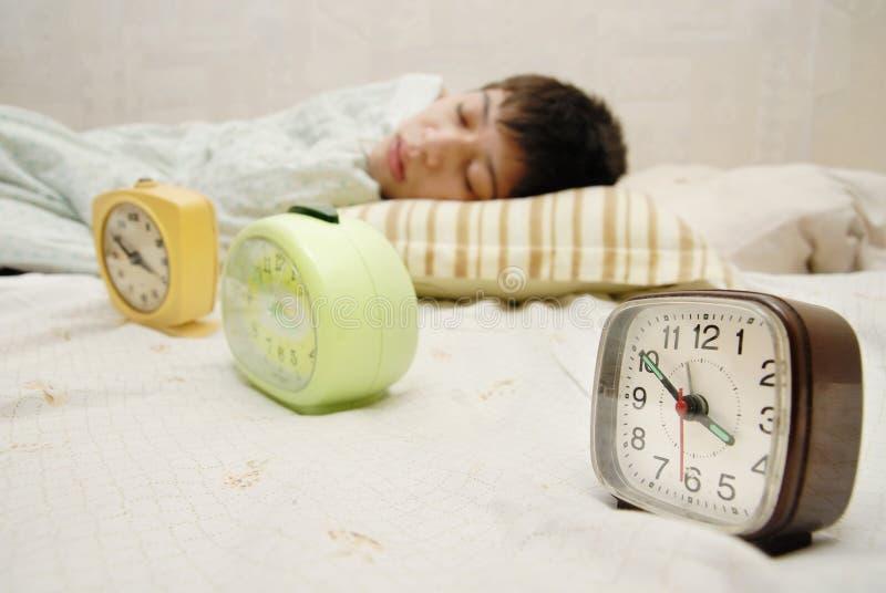 Sleepyhead photographie stock