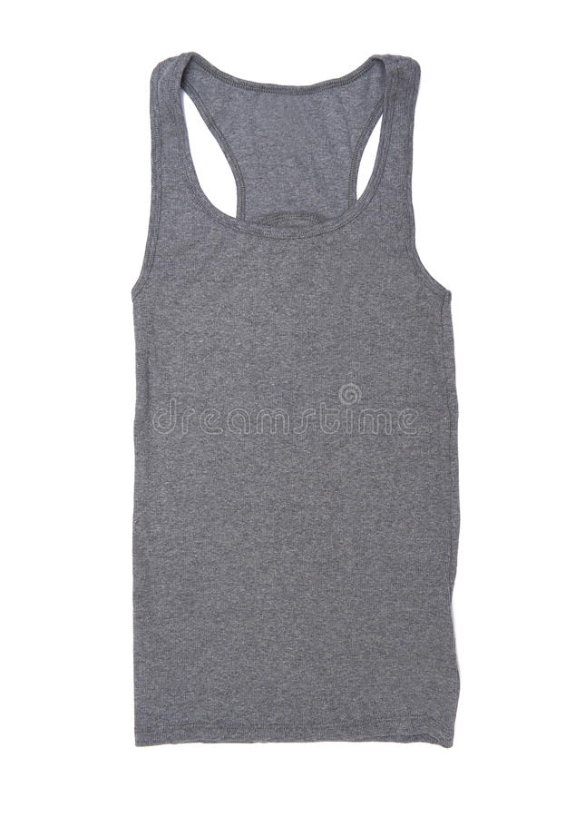 Sleeveless koszula fotografia stock