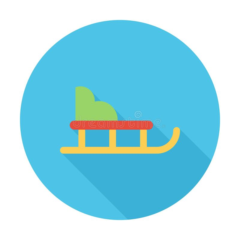 sleigh vector illustratie