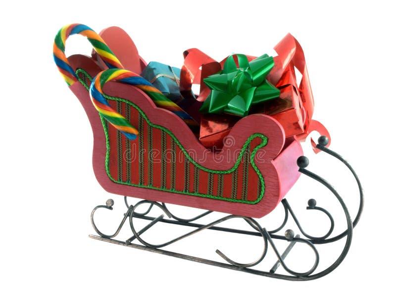 sleigh royaltyfri fotografi