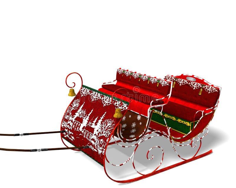 sleigh royalty-vrije illustratie