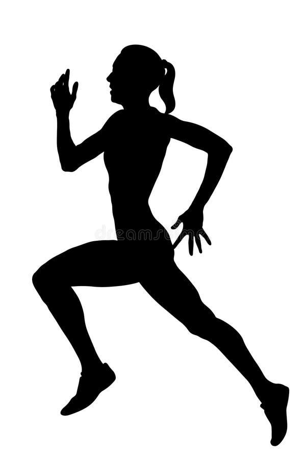 Free Slender Female Athlete Runner Royalty Free Stock Image - 153976246