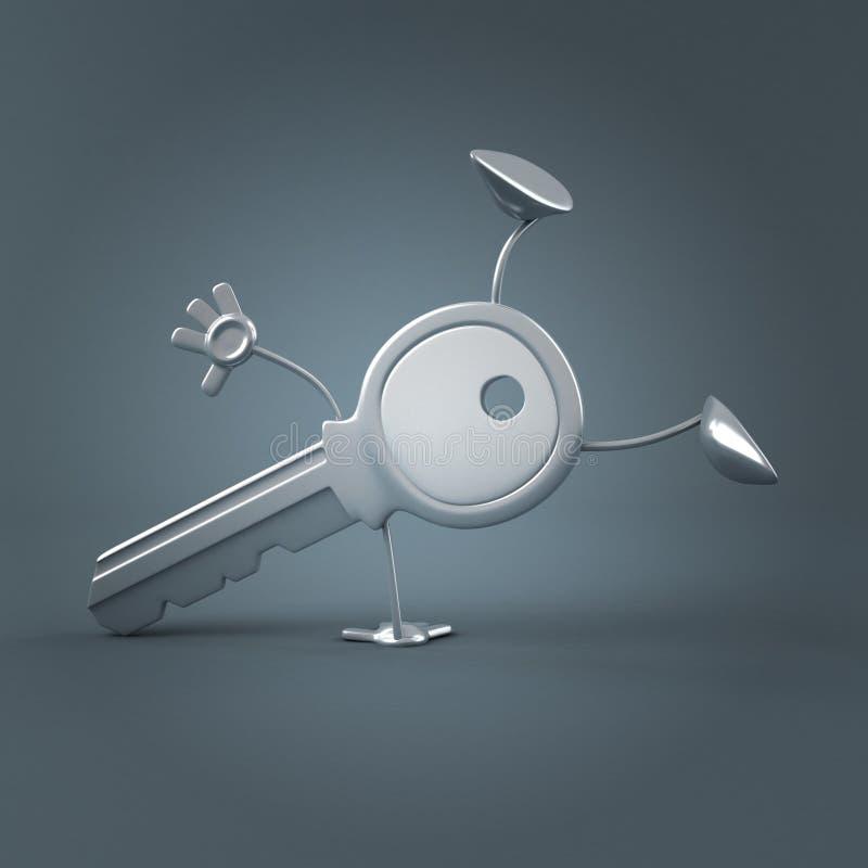 Sleutel vector illustratie