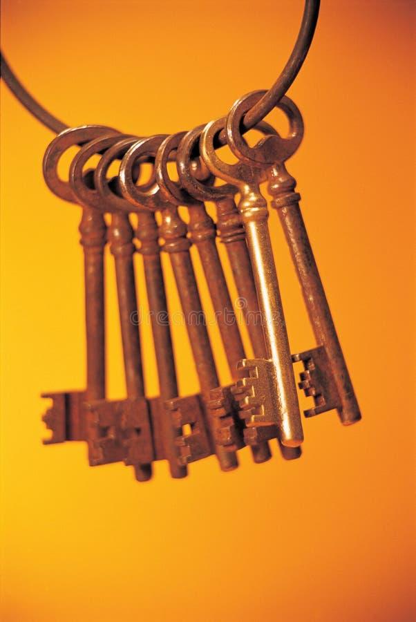 Sleutel stock foto