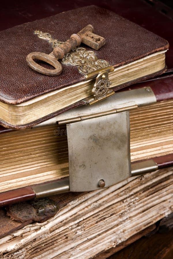 Sleutel tot geheimen royalty-vrije stock afbeeldingen