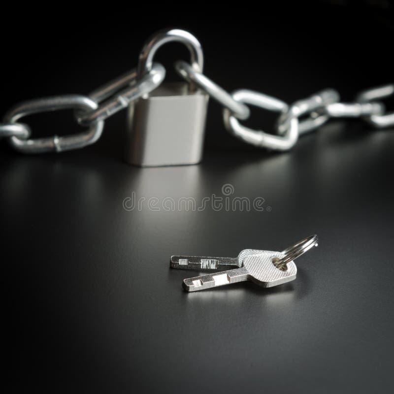 Sleutel tot vrijheid stock afbeelding