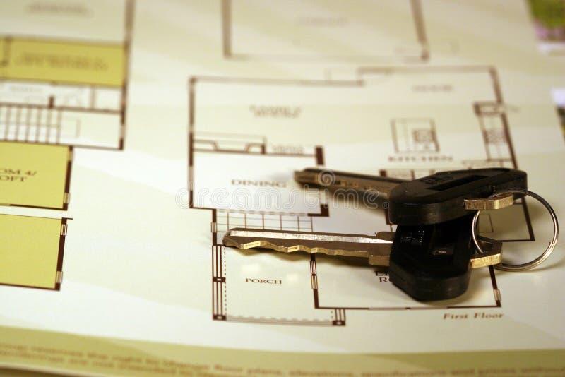 Sleutels stock afbeelding