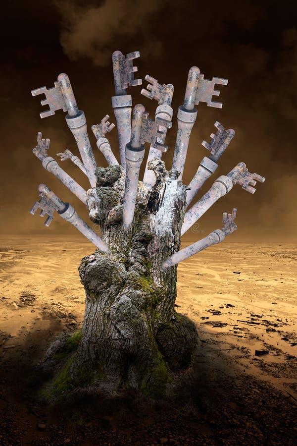 Sleutels, Succes, Zaken, Verkoop, Marketing royalty-vrije stock afbeelding