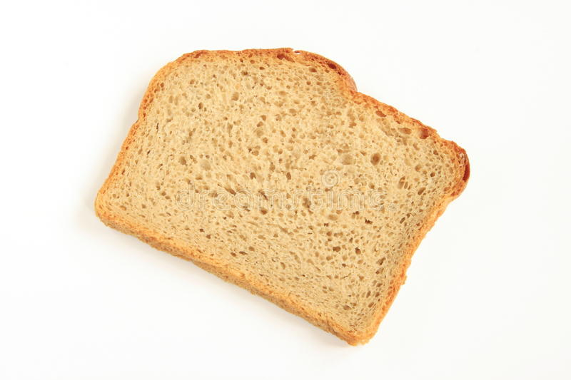 A slice of bread stock photography