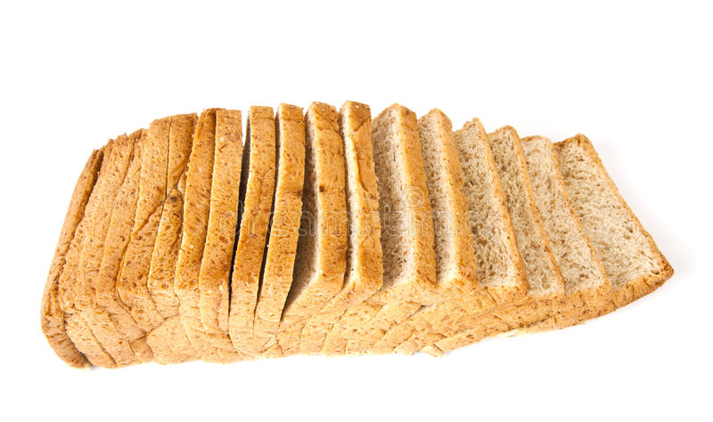 Download Slice of bread. stock image. Image of isolated, basic - 23750175